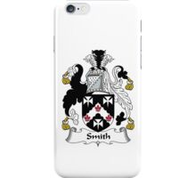 Smith Family Crest Heraldic Shield iPhone Case/Skin