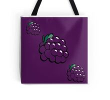 Snazzy Grapes Tote Bag