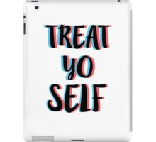 Treat Yo Self 4 (3D) iPad Case/Skin