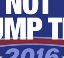 Not Trump Tho. Sticker