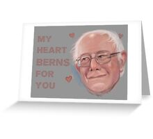 Bernie Valentine Greeting Card