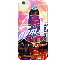 Cleveland Cavaliers Skyline and Logo iPhone Case/Skin