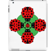 Five Lucky Ladybugs iPad Case/Skin