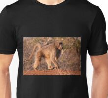 Chacma Baboon, Kruger National Park, South Africa Unisex T-Shirt