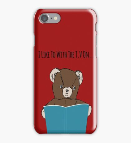Reading and Tv iPhone Case/Skin