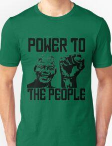 NELSON MANDELA-POWER TO THE POPLE Unisex T-Shirt