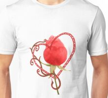 Rose Through My Heart Unisex T-Shirt