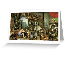Allegory of Sight Greeting Card