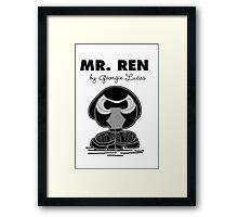 Mr Ren Framed Print