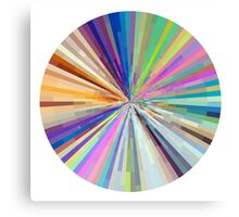 spin around a hundred times.  Canvas Print