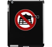 No Daleks iPad Case/Skin