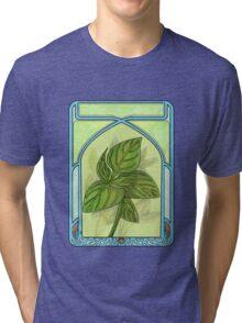 Art nouveau. Basil. Tri-blend T-Shirt