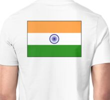 INDIA, India Flag, The National Flag of India, Pure & Simple Unisex T-Shirt