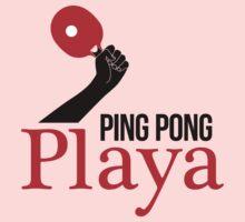 Ping Pong Playa Kids Tee