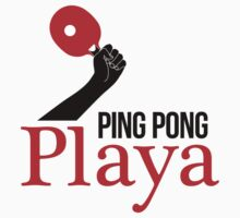 Ping Pong Playa One Piece - Long Sleeve