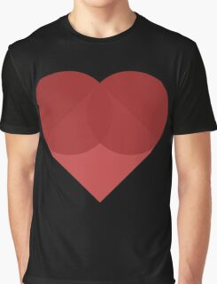 All You Need Is Art - love heart valentine fun cute romance Graphic T-Shirt