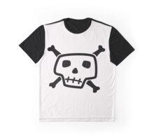 Simple Skull 'n' Crossbones Graphic T-Shirt