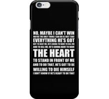 Rocky Quote iPhone Case/Skin