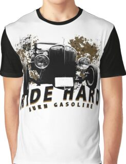 HotRod burn gasoline Graphic T-Shirt