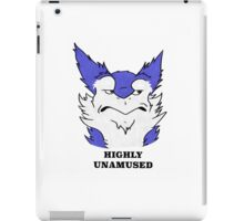 Unamused Sergal iPad Case/Skin