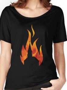 Church Burner - Flame Women's Relaxed Fit T-Shirt