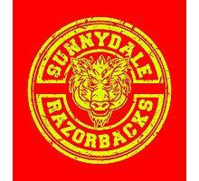 Sunnydale Razorbacks Photographic Print