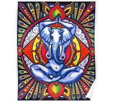 Ganesha as Goddess Poster