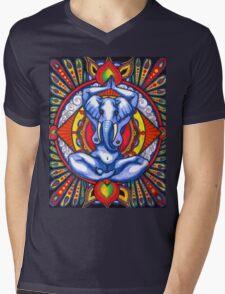 Ganesha as Goddess Mens V-Neck T-Shirt