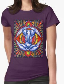 Ganesha as Goddess Womens Fitted T-Shirt