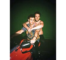 Seth Rogen and James Franco Photographic Print