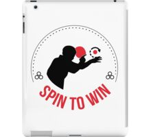 Spin to win iPad Case/Skin