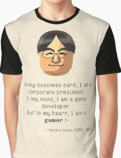 Mr. Iwata's wisdom Graphic T-Shirt