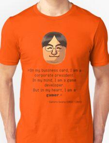 Mr. Iwata's wisdom T-Shirt