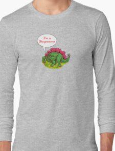 Fun Dinosaurs - Stegosaurus Long Sleeve T-Shirt