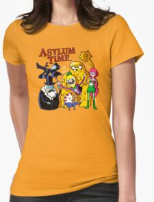 Asylum Time Womens Fitted T-Shirt