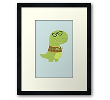 T-Vest (Geek Edition) Framed Print