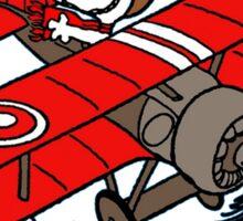 Snoopy - Airplane Sticker