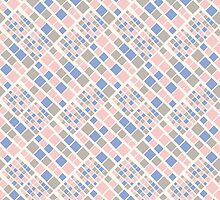 Seamless pattern in colors of 2016 year. by Zimniy