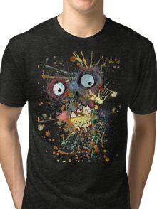 Shocked Zombie Tri-blend T-Shirt