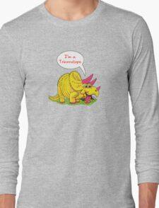 Fun Dinosaurs - Triceratops Long Sleeve T-Shirt