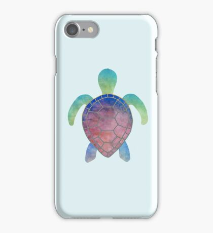 Colorful turtle iPhone Case/Skin
