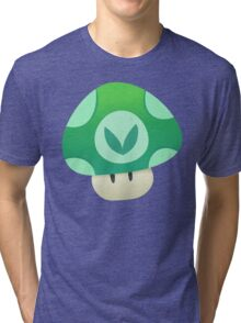 Vinesauce Mushroom Vector Tri-blend T-Shirt