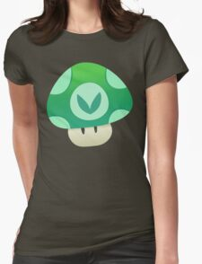 Vinesauce Mushroom Vector Womens Fitted T-Shirt