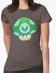 Vinesauce Mushroom Vector Womens Fitted T-Shirt