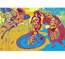 Birth Of Venus Reimagined (historic trip edition) Photographic Print