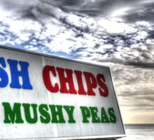 Can't forget the Mushy Peas... Sticker