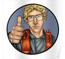 MATT The Radar Technician - Adam Driver SNL Star Wars Poster