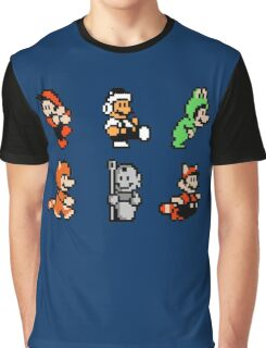 Mario 6 Graphic T-Shirt