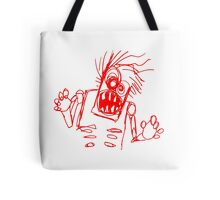 doodle zombie of the undead Tote Bag