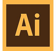 Adobe Illustrator Icon Photographic Print